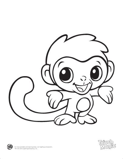 printable coloring pages of baby animals cute and free printablesfrom leapfrog baby animal