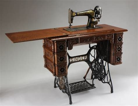 specified woodworking refinishing an antique sewing machine table by glenn
