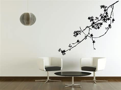 adhesive wall stickers tree branch