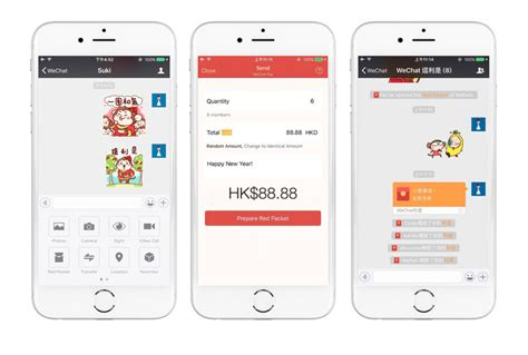 Wallet Hk And Friends New hong kong wechat users can now send packets for new year wechat chatterbox