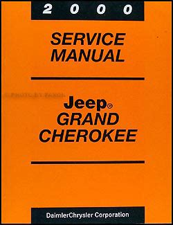 2000 jeep wrangler service shop repair manual 00 factory book mopar new jeep ebay 2000 jeep ordering code guide original