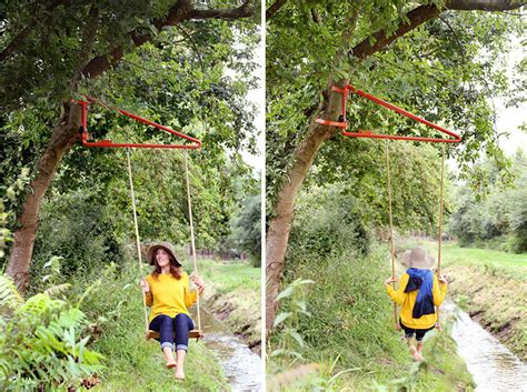 swings to hang from trees now any tree or pole can become a swing contemporist