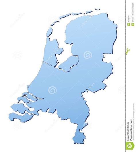 netherlands map free netherlands map stock illustration image of diagram