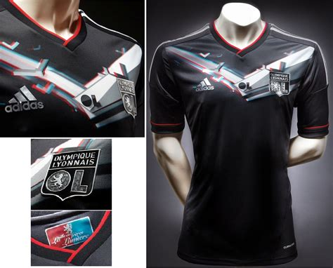 Tshirt Kaos Baju Adidas Were One Superstar soccer jerseys club olympique lyon new third soccer