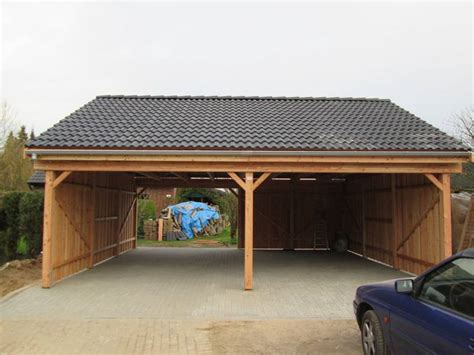 Holz Doppelcarport by Carport L 228 Rche Freese Holz