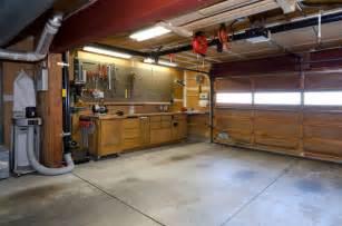 Garage With Workshop by 2 Car Garage Workshop Images