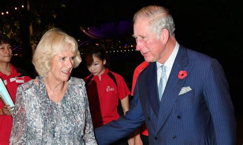 camilla prince charles prince charles and camilla in show of affection