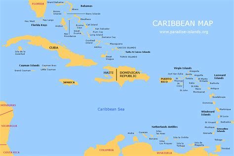 st caribbean map make your own adventures