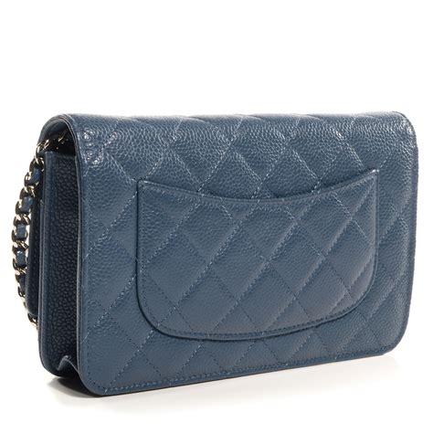 Chanel Caviar Chain chanel caviar wallet on chain woc blue 72706