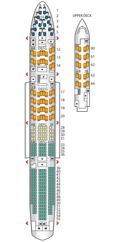 aircraft 747 seating plan club world b747 400 high j airways seat maps
