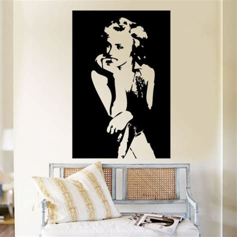 marilyn monroe vinyl marilyn monroe vinyl wall art decal