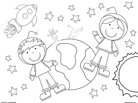 space coloring pages for kindergarten out of this world free coloring sheets freebies