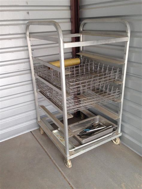 aluminum cooling rack with 191352 for sale used