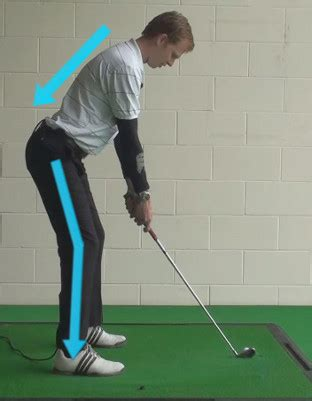 best golf swing for bad back beginner golf tip posture