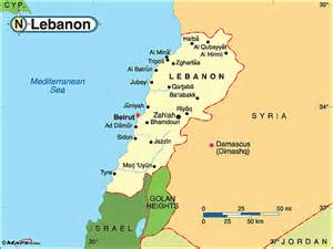 World Map Lebanon by Lebanon Political Map By Maps Com From Maps Com World S