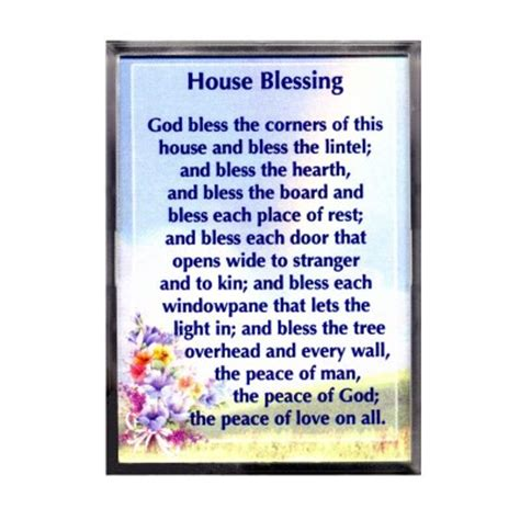 house blessing new home gifts and cards cards special occasions pilgrim shop walsingham