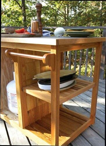 planos de cobertizos gratis bbq cart carro terraza pinterest proyectos de madera