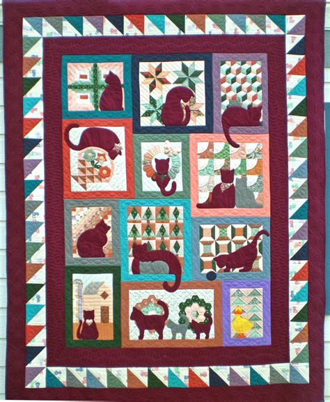 Cat Quilts For Sale by Quilts For Sale Quilt Gallery Quilts