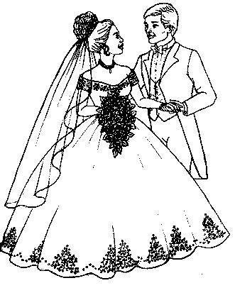 dessins mariage