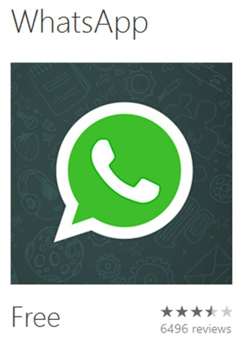 app – new version of 'whatsapp' goes live for both wp7