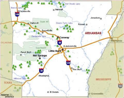 Arkansas State Parks Map by Arkansas State Parks Map Car Interior Design