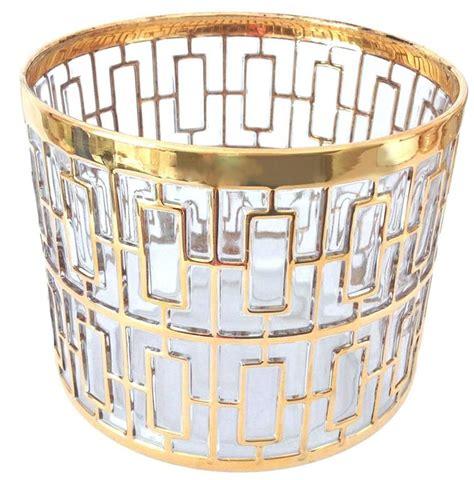 gold barware 1960s imperial glass shoji gold barware set at 1stdibs