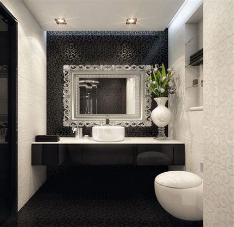black and white bathroom accent color white bathroom with black accent wall bathroom