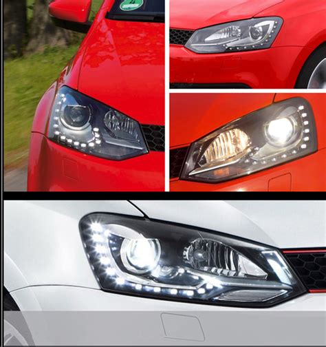 volkswagen polo headlights modified top4mic top for made in china supplier 2012 2013