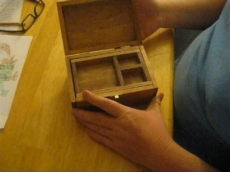 small wooden jewelry box youtube