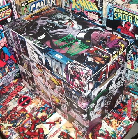 batman killing joke box comic decoupage copier