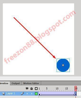 cara membuat gambar bergerak menggunakan adobe flash membuat animasi gerak dengan menggunakan adobe flash