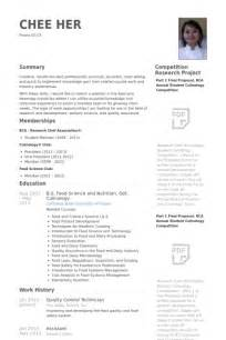 Quality Technician Resume Sle by Sle Resume For Quality Quality Supervisor