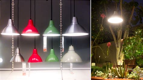 Ikea Patio Lights Garden Lighting Idea This Ikea Pendant L Survives The Socal Elements The Horticult
