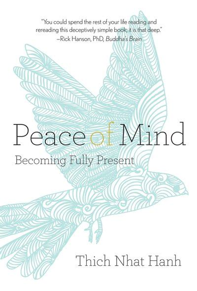 Peace Of Mind An Electronic Phone Book by Peace Of Mind By Thich Nhat Hanh Penguin Books Australia
