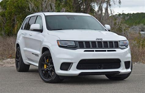 2018 jeep grand trackhawk price 2018 jeep grand srt trackhawk review test drive