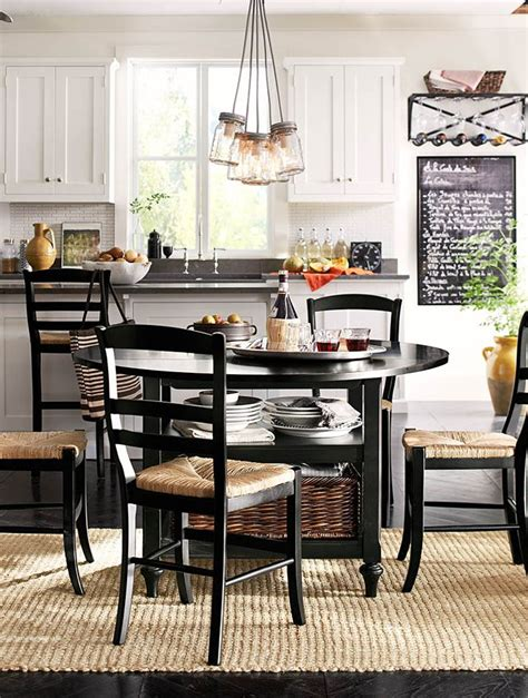 eat in kitchen furniture the perfect eat in kitchen potterybarn kitchens
