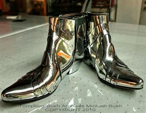 michael jackson s sterling silver shoes he wore to the