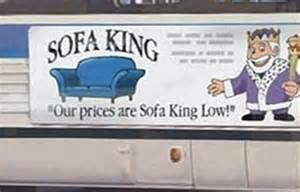Sofa King Store Sofa King Advert Banned 8 Years After Sparking Complaints Daily Mail