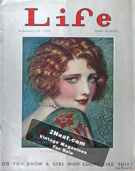 magazine biography exle for sale life magazine february 14 1930 2467 w