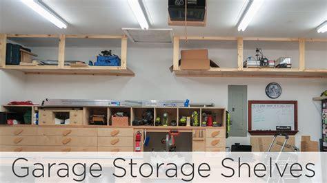 werkstatt zwischenboden wasted space garage storage shelves 202