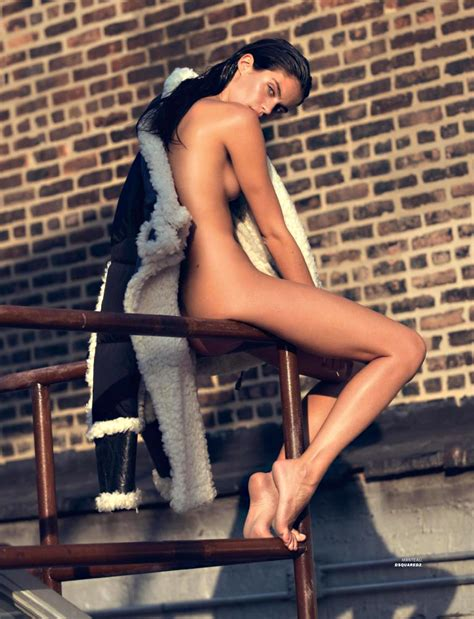 Sara Sampaio Topless For Lui Magazine Scandal Planet