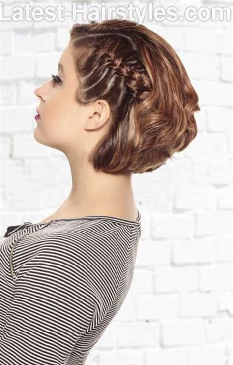 bob haircut with plait 15 best bob braid styles http www short hairstyles co