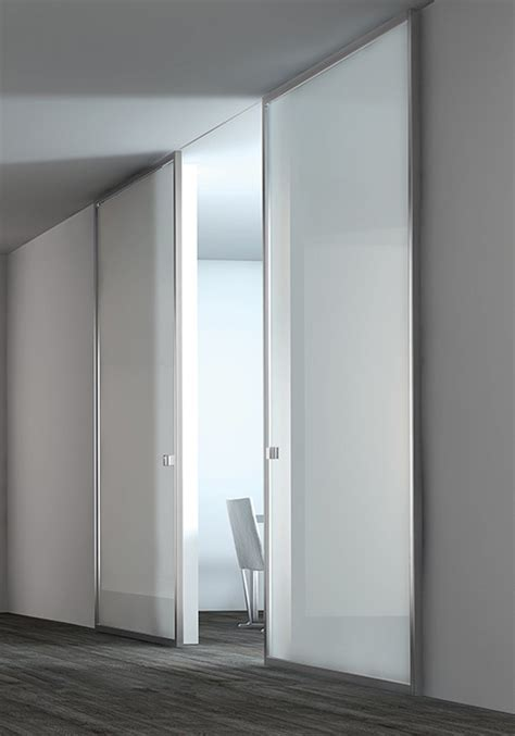 Modern Contemporary Interior Sliding Clear Glass Doors Modern Interior Sliding Doors