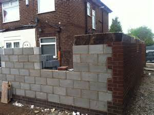Brick House Floor Plans Internal Blockwork To Ground Floor Extend Building Projects