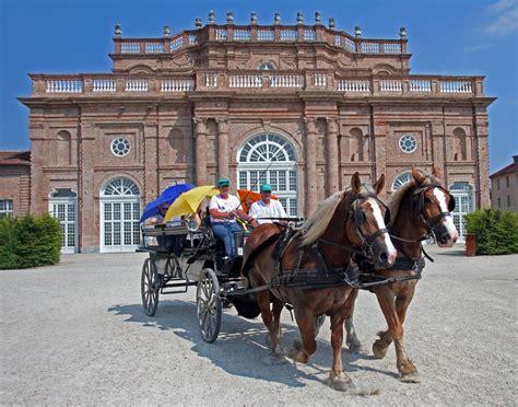 la carrozza carrozza a cavallo piaceri regali la venaria reale