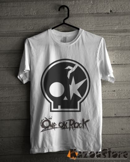 Kaos Netral Band Rock 01 detil produk kaos one ok rock oor 01 kazoustore