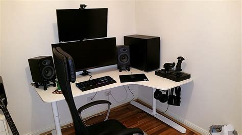 Gaming Desk Ikea White Gaming Desk Ikea Home Design Ideas Best Gaming Desk Ikea