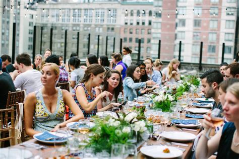 farm to table nyc event inspiration a farm to table dinner overlooking nyc