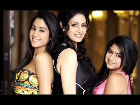 actress sridevi daughters jhanvi kapoor & khushi kapoor