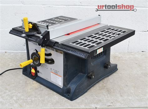 chicago electric power tools 10 quot 15 industrial table